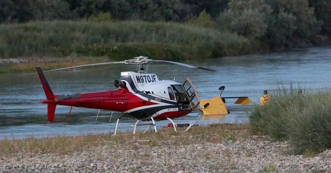 Gyroplane crashes into Colorado River, killing 2
