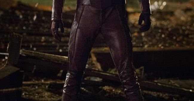 Grant Gustin suits up as 'The Flash' in new series