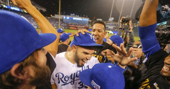 Royals beat Angels 8-3 to finish off ALDS sweep