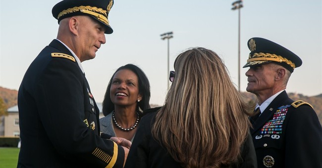 Rice receives Thayer Award at US Military Academy