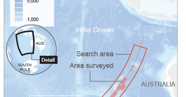 At a glance: The search for Flight 370