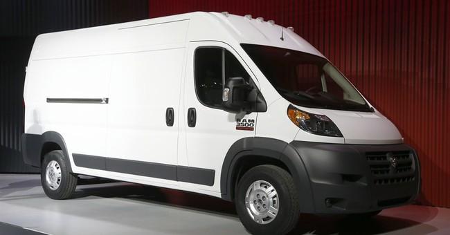 Chrysler recalls commercial vans to fix headrests