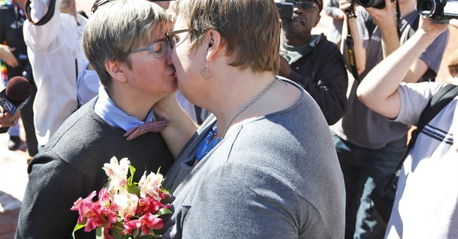 Same-sex couples start marrying in the South