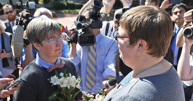 Same-sex marriages begin in the South