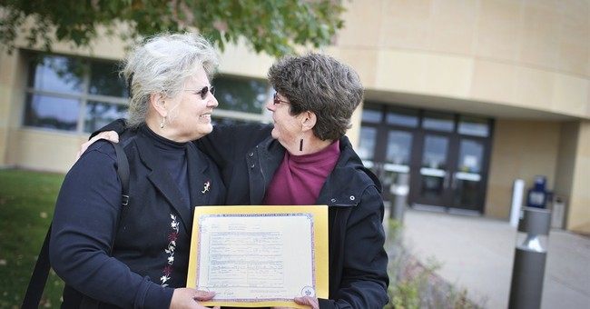 Correction: Gay Marriage-Developments story