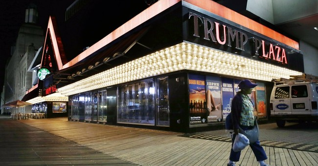 APNewsBreak: Trump name coming off closed casino