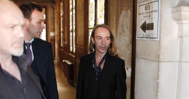 Galliano's back, joining Maison Martin Margiela