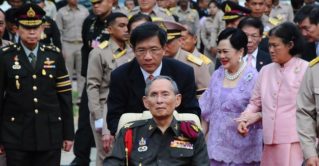 86-year-old Thai king has gallbladder surgery