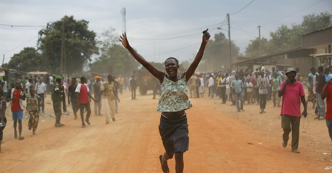 Rebels escorted from base in C. African Republic