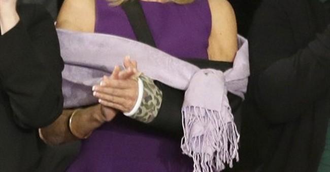 Jill Biden breaks wrist in fall, in cast for weeks