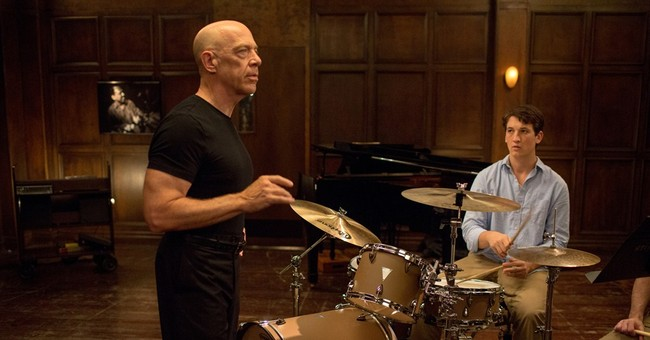 Review: Blood on the jazz drums, in 'Whiplash'