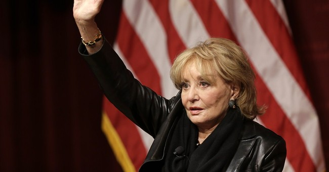 Barbara Walters talks about TV career at Harvard