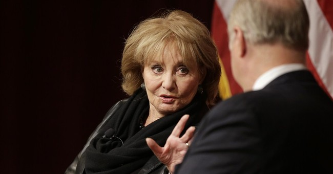 Barbara Walters talks about TV career at Harvard