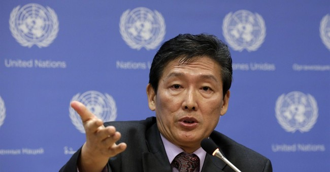 North Korea, at UN, mentions its labor camps