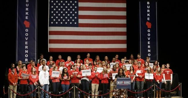 Michelle Obama campaigns in Wisconsin, Illinois