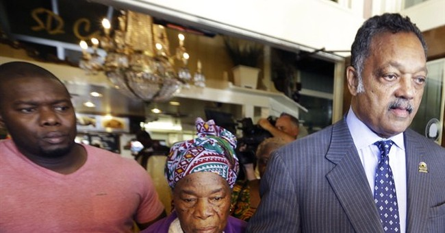 Jesse Jackson meets with Ebola patient's family