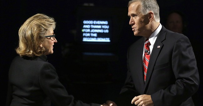 Senate opponents in several races argue over Obama