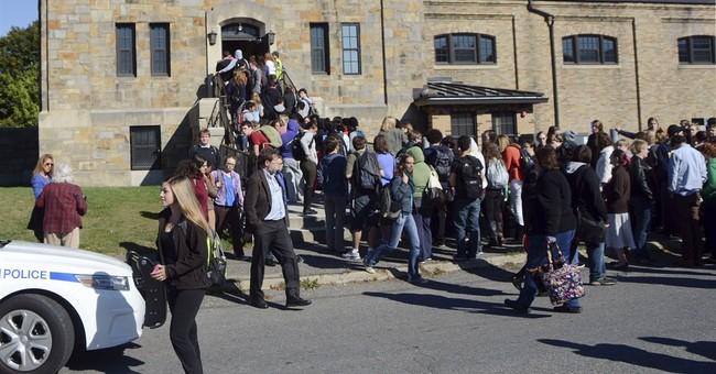 New England schools face rash of bomb threats
