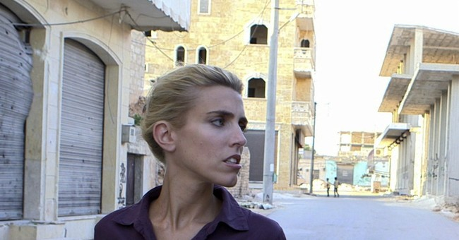 CBS reporter travels to Syria for interviews