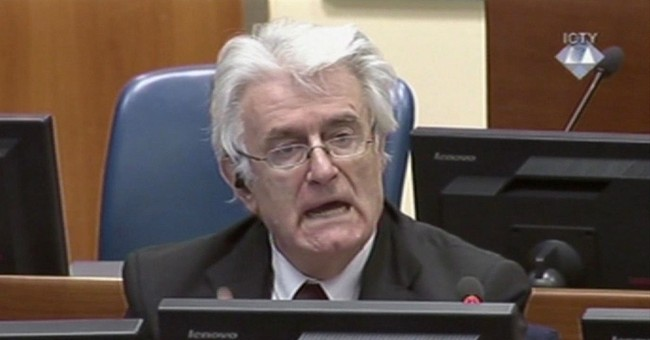 As trial ends, Karadzic expects to be acquitted