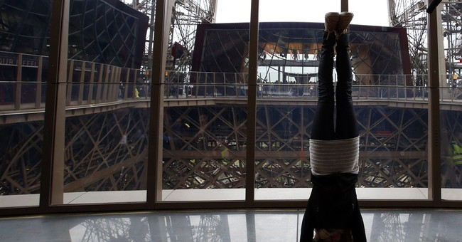 Eiffel Tower gets $38M vertigo-inducing face lift