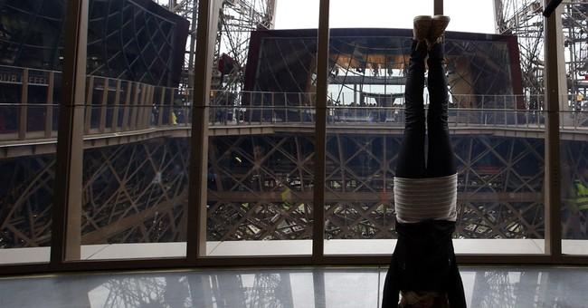 Eiffel Tower gets $38M vertigo-inducing face lift