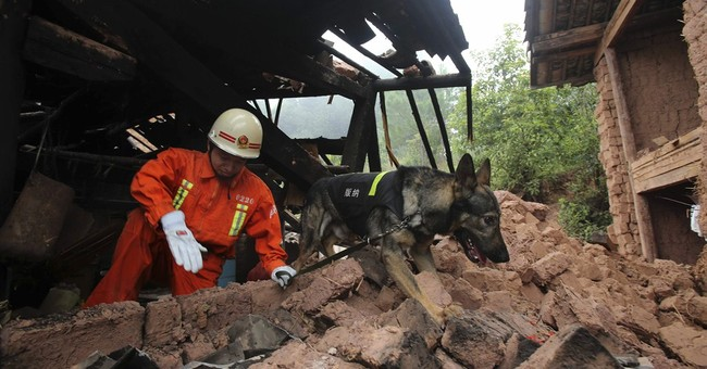 Strong earthquake shakes southwestern China