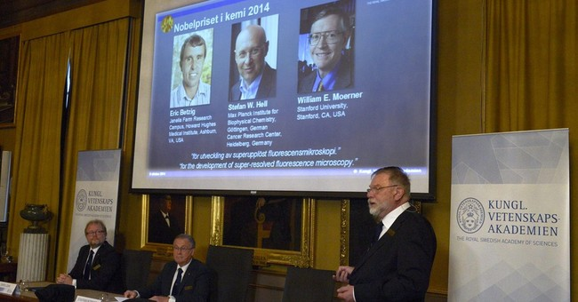 A look at winners of 2014 Nobel Prize in chemistry