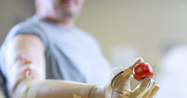 Step toward artificial hand with a sense of touch