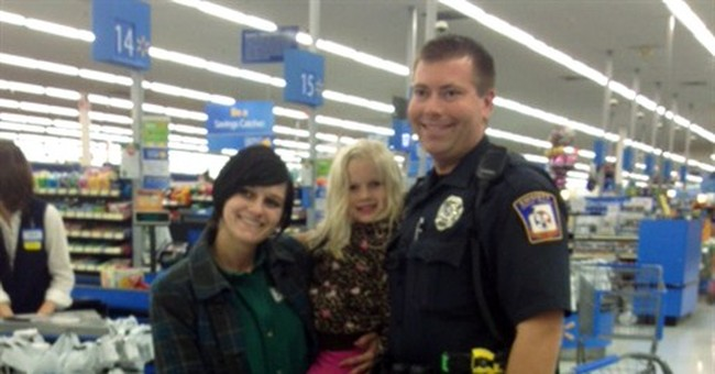 Instead of ticket, officer buys girl booster seat