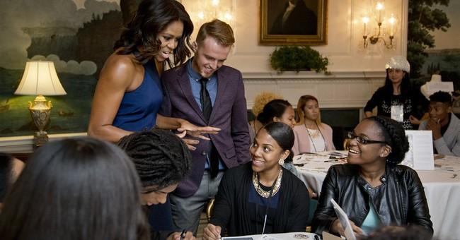 First lady: Fashion about more than pretty pumps