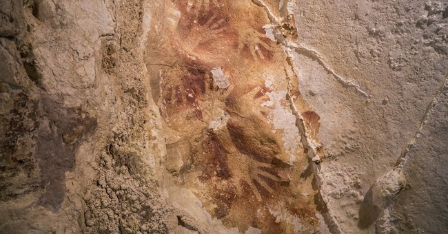 Study: Asian cave drawings as old as European ones