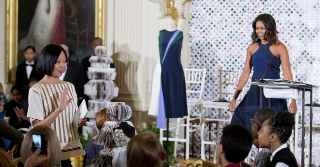 First lady: Fashion about more than pretty pumps