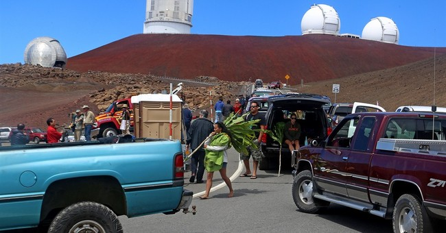 Protesters halt Hawaii telescope groundbreaking