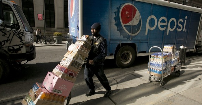 PepsiCo's strong 3Q sends shares toward new high