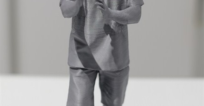 The new family portrait? 3D-printed statue selfies
