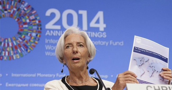 Finance officials face global economy under threat