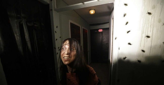 New York scare house evokes city's 'bad old days'