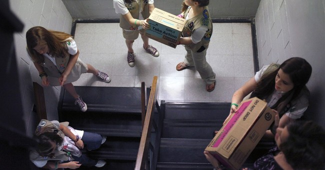 AP NewsBreak: Girl Scouts membership drops sharply