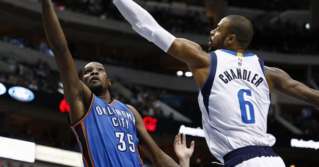 Thunder star Kevin Durant has foot fracture