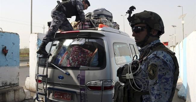 Worried Iraqi capital sees militant push around it