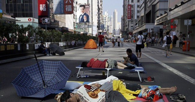 Hong Kong protesters petition Chinese President Xi