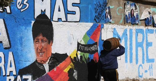 Pre-election hoax tweets for Bolivia's Morales