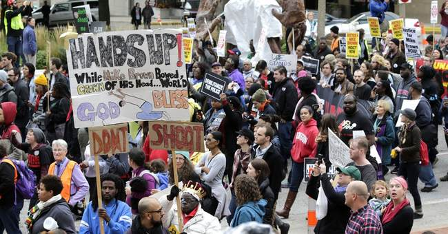 Police shooting protests continue in St. Louis