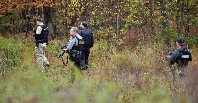 Ambush suspect could lose advantage as leaves fall