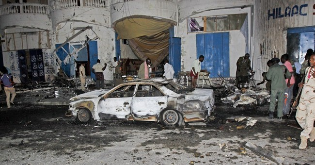 Car bomb in Somalia's capital kills 11