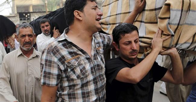 Triple suicide bombing in Iraq kills 58 people