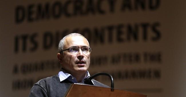 Khodorkovsky warns against strict Russia sanctions