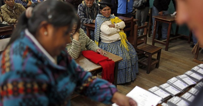 Quick count: Bolivia's Morales coasts to 3rd term