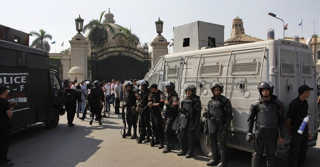 Egypt police in 2 universities to quell protests